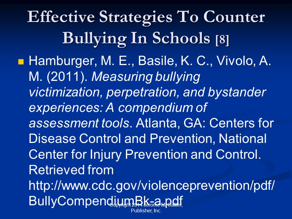 Effective Strategies To Counter Bullying In Schools [8]